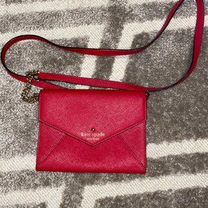 Kate Spade Cedar Street Monday Cross Body RED